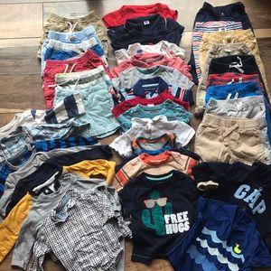 39 PIECE BUNDLE OF BABY BOY CLOTHES! 6-12 months